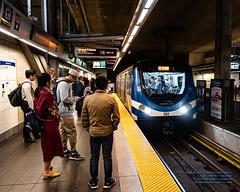 Southbuound Canada Line Pulling Up at Broadway-City Hall Station (AvgeekJoe) Tags: 1835mmf18dchsm britishcolumbia broadwaycityhallcanadalinestation broadwaycityhallstation canada canadaline d7500 dslr hyundairotememu importedkeywordtags lightrail nikon nikond7500 sigma1835mmf18 sigma1835mmf18dchsmart sigma1835mmf18dchsmartfornikon sigmaartlens skytrain train translink vancouver masstransit masstransportation publictransit publictransportation rail trainstation transit urbanrail