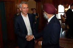 NATO Secretary General visits Canada (NATO) Tags: toronto canada nato otan secretarygeneral jensstoltenberg