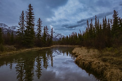 Jasper early morning (Robert Grove 2) Tags: jasper canada alberta landscape water calm still mirror
