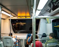 SkyTrain Canada Line Rolling Into Bridgeport Station (AvgeekJoe) Tags: 1835mmf18dchsm britishcolumbia canada canadaline d7500 dslr hyundairotememu importedkeywordtags lightrail nikon nikond7500 sigma1835mmf18 sigma1835mmf18dchsmart sigma1835mmf18dchsmartfornikon sigmaartlens skytrain train translink vancouver masstransit masstransportation publictransit publictransportation rail transit urbanrail