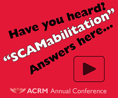 ACRM Annual Conference #ACRM2019 Featured Session: SCAMabilitation (ACRM-Rehabilitation) Tags: acrmprogressinrehabilitationresearchconference acrmconference annualconference acrm|americancongressofrehabilitationmedicine drfordvox scamabilitation progressinrehabilitationresearch archivesofphysicalmedicinerehabilitation rehabilitation rehabcast featuredsession continuingeducationcredits cmeceu medicalconference medicaleducation