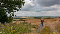 Far from the Madding Crowd (Frank Gardiner- No Awards Please-Comments Welcome) Tags: photocomposite dorsetscene backpacker