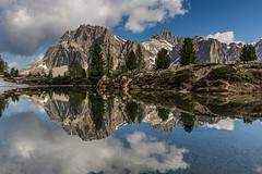 Der Lago di Limides (jürgenmilnik) Tags: italien italia dolomiten dolomiti lago passo falzarego passodifalzarego nikon nikond7200 landschaft landscape lagodilimides