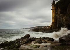 Victoria Beach, CA (J.R. Krueger) Tags: canon cannon6d laguna beach victoria tower cal costal fog