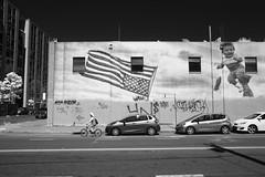 Flag Mural, Oak and 4th (kukkurovaca) Tags: infared 5d oakland 28cmf35h flags