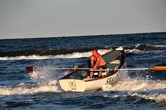 SINGLES ROW (MIKECNY) Tags: boat row water seaisle lifeguard singlesrow lifeguardchampionships capemaycounty ocean waves