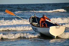 HEADING OUT (MIKECNY) Tags: boat row water ocean waves capemaycounty lifeguardchampionships oceancity newjersey singlesrow lifeguard