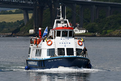 Maid of the Forth - South Queensferry - 12-07-19 (MarkP51) Tags: maidoftheforth southqueensferry scotland tourboat ship boat vessel water sunshine sunny nikon d500 nikon200500f56vr
