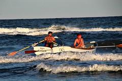 CLOSE RACE (MIKECNY) Tags: race row boat water ocean lifeguard capemaycounty lifeguardchampionships seaislecity uppertownship singlesrow newjersey