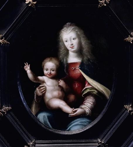 IMG_0061D Samson Brulley (Bruley) 1560-1621 Besançon La Vierge à l'Enfant The Virgin and Child Besançon Musée des Beaux Arts