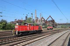 DB Cargo 294 823-0 und 294 805-7, Völklinger Hütte (michaelgoll777) Tags: db br294 v90