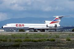 Tupolev Tu-154M CSA Czechoslovak Airlines OK-TCD PMI LEPA (Toni Marimon) Tags: tupolev tu154m csa czechoslovak airlines oktcd pmi lepa tu154 nikon kodachrome kr64