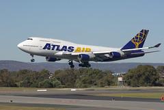 Atlas Air 747-400 (barnettmark39) Tags: 747400 perthairport n263sg