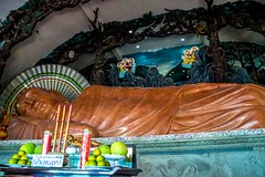 Sleeping Buddha (Tony Shertila) Tags: nikon5300 phumy asia buddha cruise nirvana religion ship temple tourist vietnam worldcruise vungtau niếtbàntịnhxátemple buddhism dragon pagoda statue