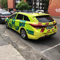 Hyundai Rapid Response Vehicle of the National Ambulance Service (barronr) Tags: vri rapidresponsevehicle rrv 911 112 999 emergencymedicalservice ems ambulance nationalambulanceserviceofireland