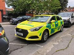 Hyundai Rapid Response Vehicle of the National Ambulance Service (barronr) Tags: nationalambulanceservice vri emergencymedicalservice ems 9111 112 999 rapidresponsevehicle rrv eire ireland dublin ambulance