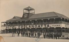 Hotel Coolangatta, Qld - 1920s (Aussie~mobs) Tags: fajax hotelcoolangatta hotel pub vintage queensland australia goldcoast coolangatta building architecture staff 1920s