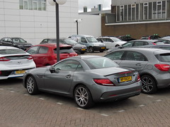 2017 Mercedes SLC 43 AMG 3.0 V6 (brizeehenri) Tags: mercedes slc amg 2017 np063l rotterdam
