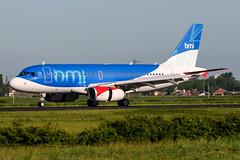 G-DBCH (PlanePixNase) Tags: amsterdam ams eham schiphol planespotting airport aircraft bmi british airbus 319 a319 midland