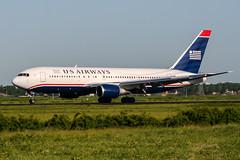 N655US (PlanePixNase) Tags: amsterdam ams eham schiphol planespotting airport aircraft usairways boeing b762 767200 767