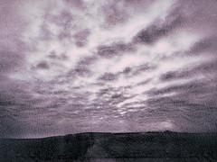 20190301-0003 (www.cjo.info) Tags: berwickupontweed england europe europeanunion northumberland snapseed snapseedgrungefilter unitedkingdom westerneurope cloud evening eveninglight iphoneography landscape sky train viewfromtrainwindow