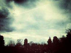 20190301-0012 (www.cjo.info) Tags: england europe europeanunion snapseed snapseedgrungefilter unitedkingdom westerneurope worcester worcestershire cloud evening eveninglight iphoneography landscape sky train viewfromtrainwindow