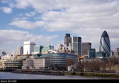 BH798B (tsuruta.junichi) Tags: london skyline gherkin river thames city uk