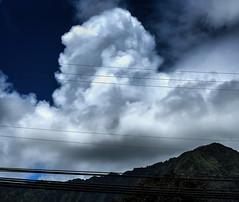 Waimanalo (JonathanMorse) Tags: waimanalo oahu hawaii mountain cloud skyscape electricity