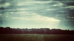 20190301-0009 (www.cjo.info) Tags: berwickupontweed england europe europeanunion northumberland snapseed snapseedgrungefilter unitedkingdom westerneurope cloud evening eveninglight iphoneography landscape sky train viewfromtrainwindow