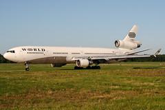 N804DE (PlanePixNase) Tags: aircraft airport planespotting haj eddv hannover langenhagen worldairways mcdonnell douglas md11