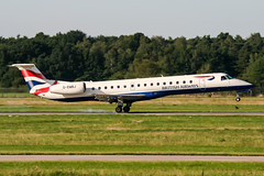 G-EMBJ (PlanePixNase) Tags: aircraft airport planespotting haj eddv hannover langenhagen british britishairways embraer 145 e145