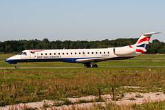 G-ERJG (PlanePixNase) Tags: aircraft airport planespotting haj eddv hannover langenhagen british britishairways embraer 145 e145