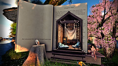 within the pages (Sabreene) Tags: sl secondlife avatar trompeloeil