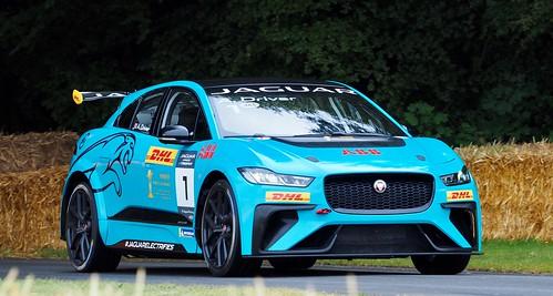 Jaguar iPace at Goodwood FoS 2019