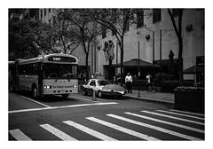 FILM - Burgermobile (fishyfish_arcade) Tags: 35mm analogphotography bw blackwhite blackandwhite canonsureshotz135 filmphotography filmisnotdead hp5 istillshootfilm monochrome newyork analogcamera compact film ilford mono streetphotography bus burger