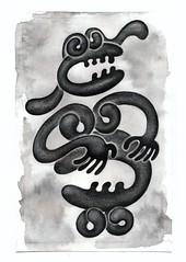 Sketch (pick a bone) Tags: illustration ink inkdrawing inksketch inkbrush inkonpaper sketch brush black drawing chinaink chinainkdrawing chinainkillustration pen pendrawing pickabone