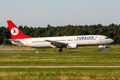 TC-JFY (PlanePixNase) Tags: aircraft airport planespotting haj eddv hannover langenhagen turkish turkishairlines boeing 737 737800 b738