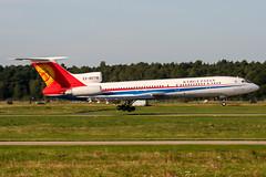EX-85718 (PlanePixNase) Tags: aircraft airport planespotting haj eddv hannover langenhagen kyrgyzstan tupolev tu154 t154