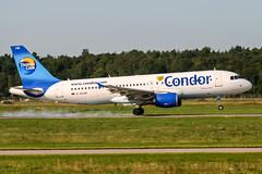 D-AICM (PlanePixNase) Tags: aircraft airport planespotting haj eddv hannover langenhagen condor airbus 320 a320