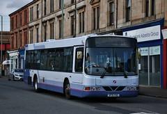 Photo of First Glasgow SF51 YAG (61600) | Route 1E | Kilbowie Rd, Clydebank