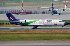 HA-LNA (PlanePixNase) Tags: hamburg ham eddh fuhlsbüttel airport aircraft planespotting malev canadair crj 200 crj2