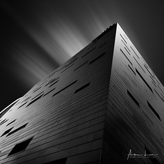 Lasalle, College Of Arts I (Alec Lux) Tags: bw bnw lasalle singapore architecture art black blackandwhite building buildings city collegeofthearts curves design exterior facade fine fineart haida haidafilters lines longexposure minimal minimalism modern outdoor outside shape skyscraper tower urban white