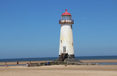 Talacre Lighthouse (big_jeff_leo) Tags: wales welsh lighthouse sea tower stone sand beach