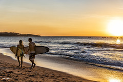 Random Couple of Surfers in Tamarindo, Costa Rica (GirarFly798) Tags: tamarindo costarica costa rica couple surfer surf sea ocean waves sunset pacific