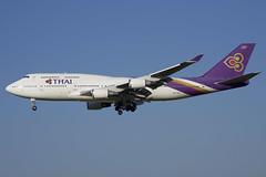 Thai Airways Boeing 747-400; HS-TGZ@ZRH;17.07.2019 (Aero Icarus) Tags: zrh zürichkloten zürichflughafen zurichairport lszh plane avion aircraft flugzeug