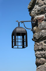 The Old Church Lantern (big_jeff_leo) Tags: wales welsh church stone iron medieval