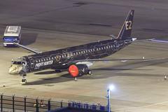 "Embraer E195-E2 PR-ZIQ ""Profit Hunter"" 007 (A.S. Kevin N.V.M.M. Chung) Tags: aviation aircraft aeroplane airport airlines apron plane spotting mfm macauinternationalairport night erj erj190400std e195e2 e195 embraer profithunter speciallivery"