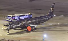 "Embraer E195-E2 PR-ZIQ ""Profit Hunter"" 005 (A.S. Kevin N.V.M.M. Chung) Tags: aviation aircraft aeroplane airport airlines apron plane spotting mfm macauinternationalairport night erj erj190400std e195e2 e195 embraer profithunter speciallivery"
