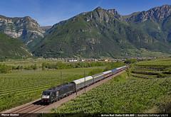 Arriva E189.935 (Marco Stellini) Tags: arriva rail italia autozug eetc brennero brennerbahn verona avio adige 189 mrce siemens