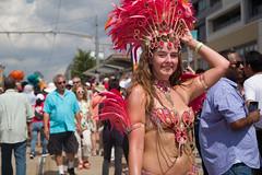 Samba Dancer on St Clair (Photo Oleo) Tags: toronto festival latin street sambadancers dance dancemigration brazilian feathers salsaonstclair candid explore
